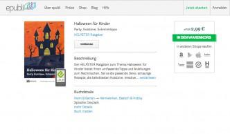 Halloweenhaus als Buchcover