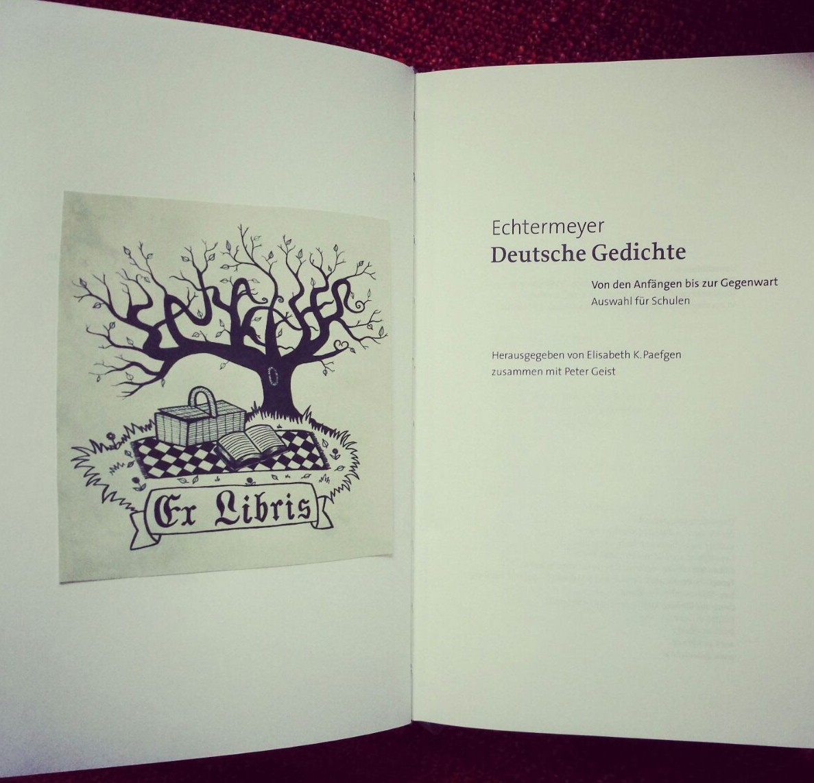Ex-Libris-Buch