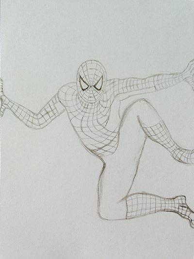 spidermanbleistift