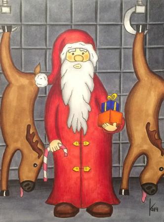 Weihnachtsschlachterei