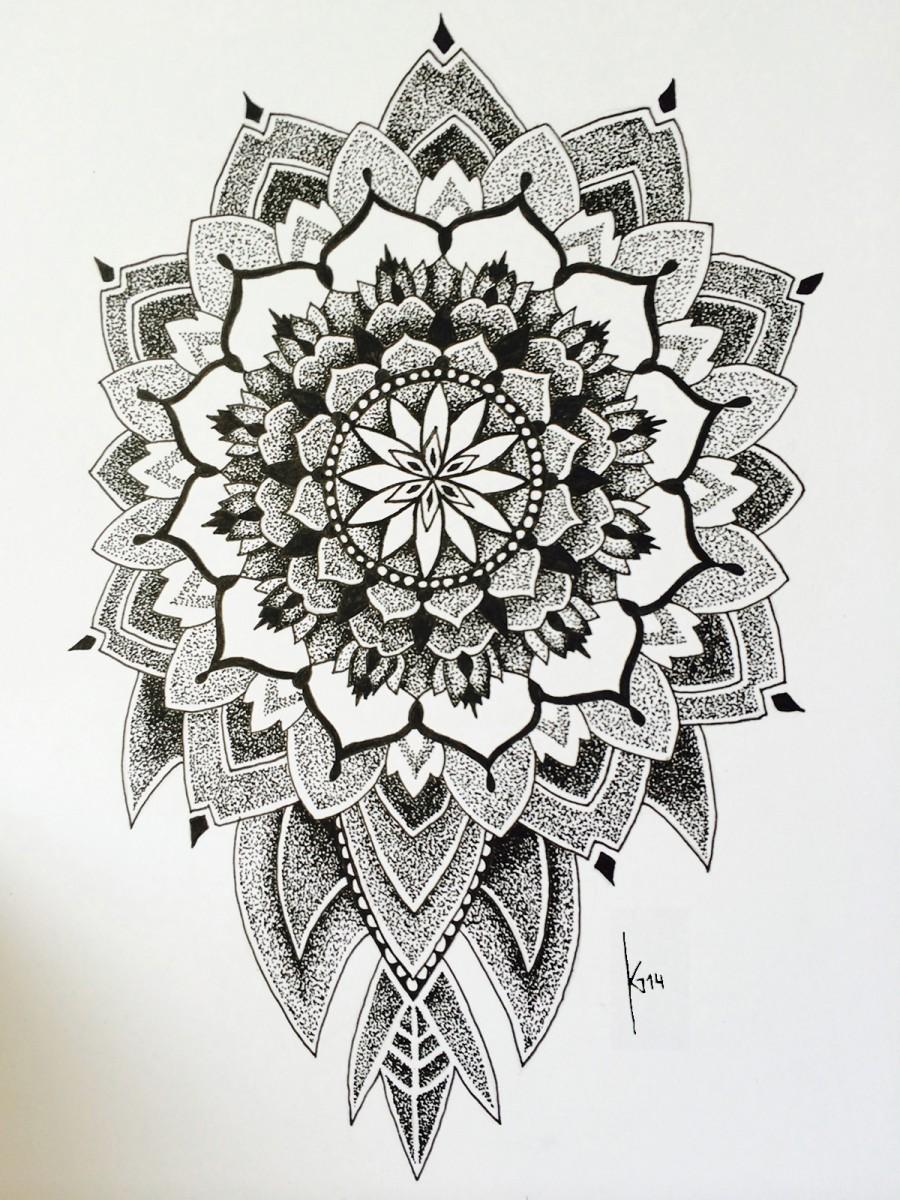 Tattoomotiv Mandala Dotwork Artsoul