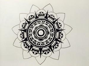 Mandala Schritt 3