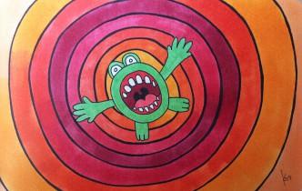 Frog-web