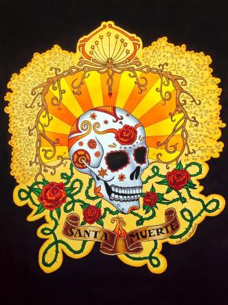 Dia de los Muertos Totenkopf