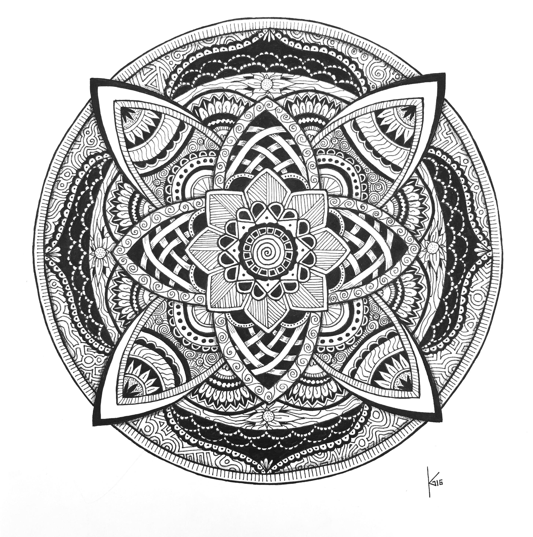 Mandala-Lotus