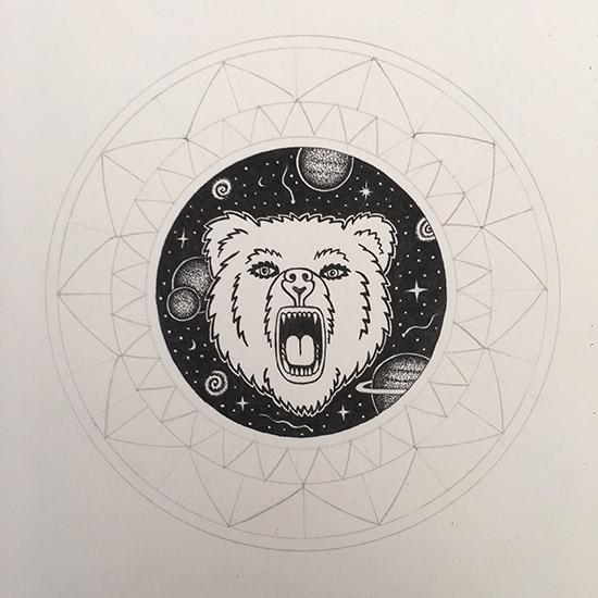 Mandala-mit-Bär-und-Sternen1