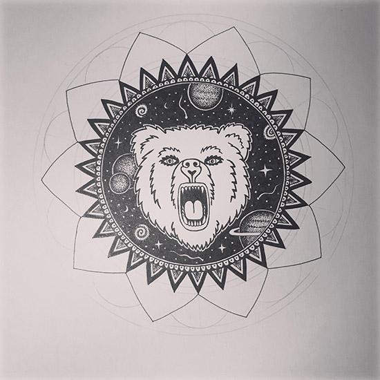 Mandala-mit-Bär-und-Sternen2