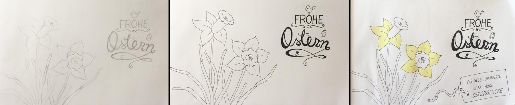 Osterglocke-Illustration-wip