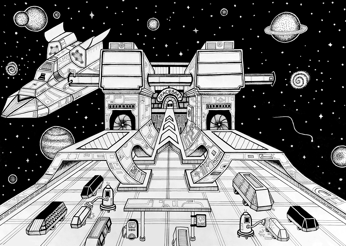Raumstation-web